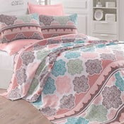 Narzuta na łóżko Andalucia Turquoise, 200x235 cm