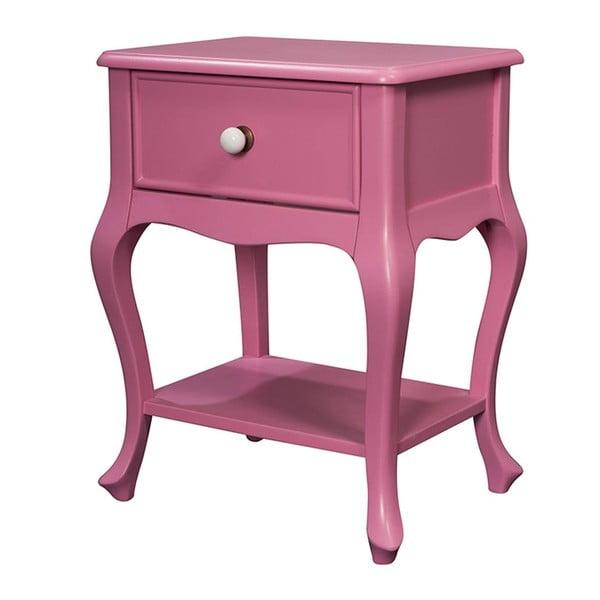 Szafka Purl Pink, 44x33x60 cm
