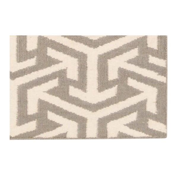 Ręcznie tkany dywan Kilim Grey 103, 150x240 cm