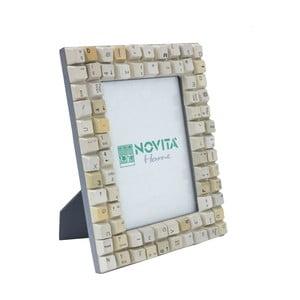 Ramka na zdjęcia z klawiatury Novita, 16x22 cm