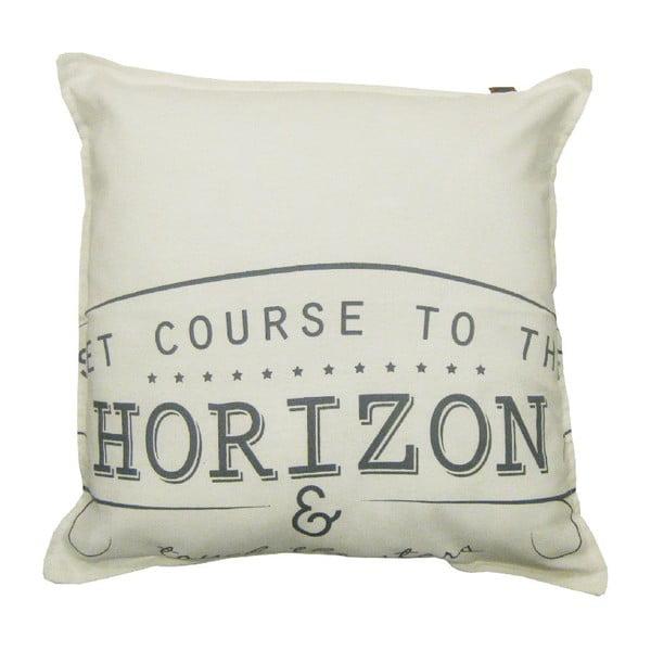 Kremowa poduszka Overseas Horizon, 45x45 cm
