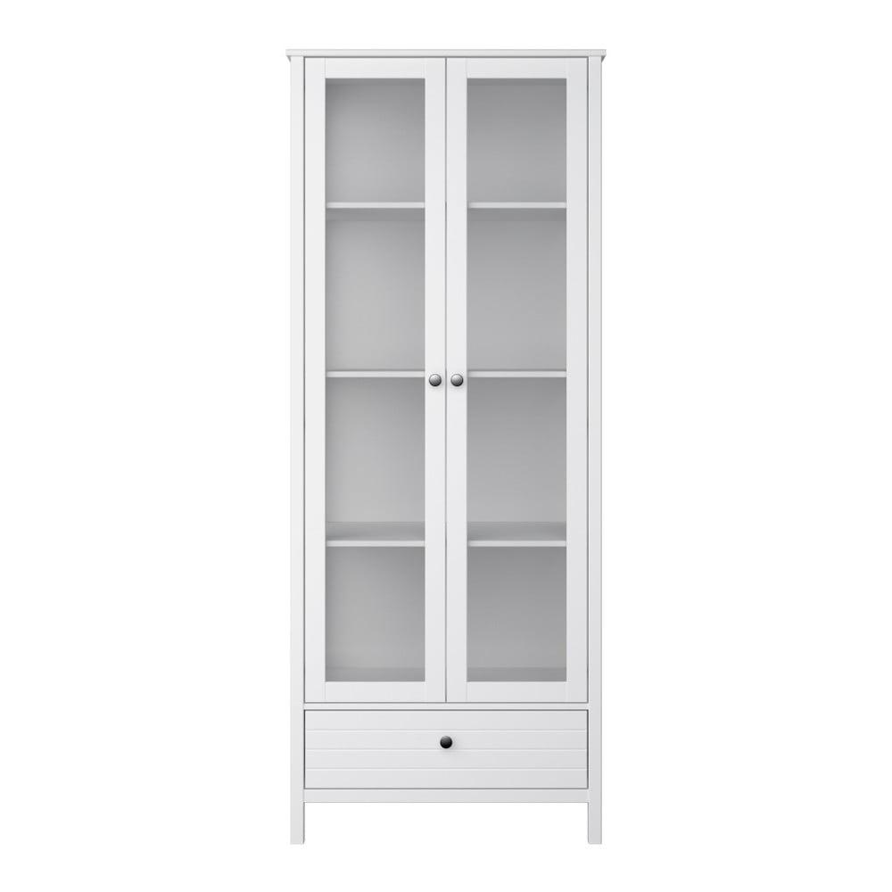 Biała witryna Steens New York, wys. 194 cm
