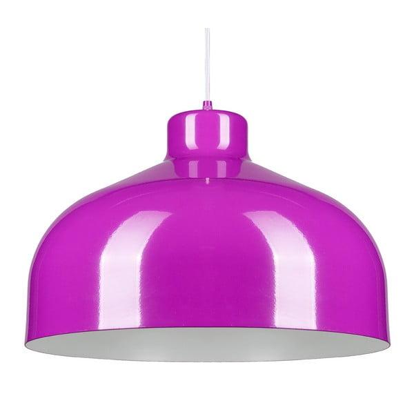 Fioletowa lampa wisząca Loft You B&B, 44 cm