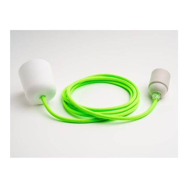 Kolorowy kabel Loft, limonka