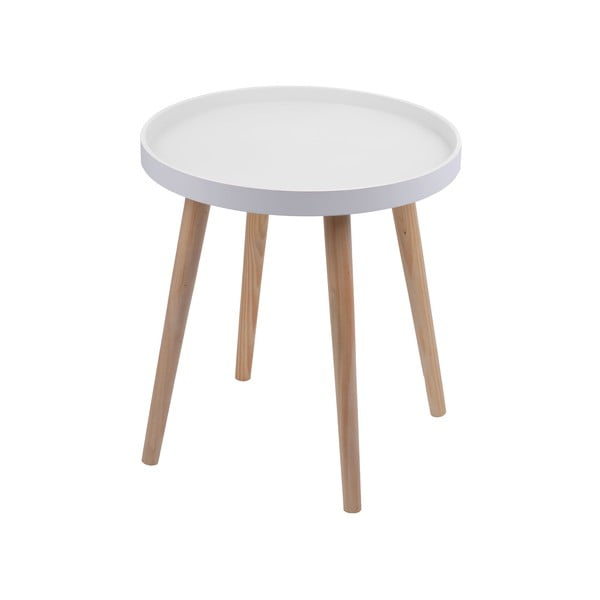 Stolik Simple Table 48 cm, biały