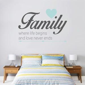 Naklejka ścienna Family Love, Dreams, 70x50 cm
