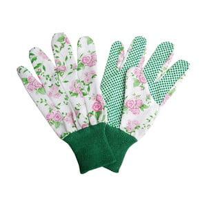Białe rękawice ogrodnicze Esschert Design Plaque