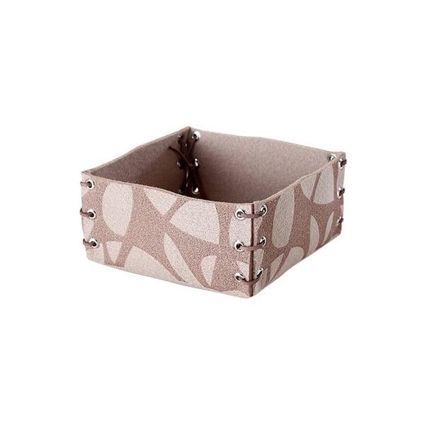Filcowe pudełko, 25x10 cm, beżowe