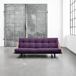 Wielofunkcyjna sofa Karup Jump Black/Purple