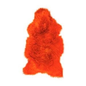 Pomarańczowa skóra owcza Swedo, 110x60cm