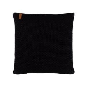 Poduszka z wypełnieniem Sailor Knit Black, 50x50 cm