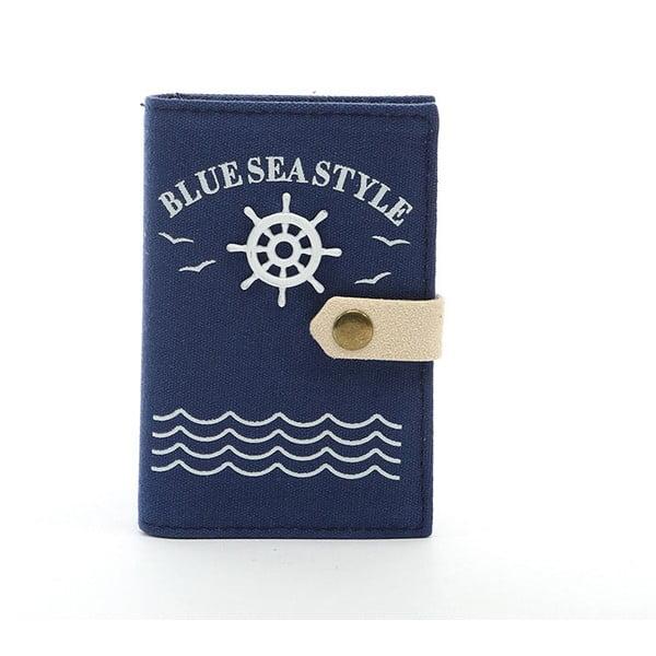 Etui na dokumenty Blue Sea, niebieskie