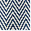 Dywan wełniany Zig Zag Dark Blue, 200x140 cm