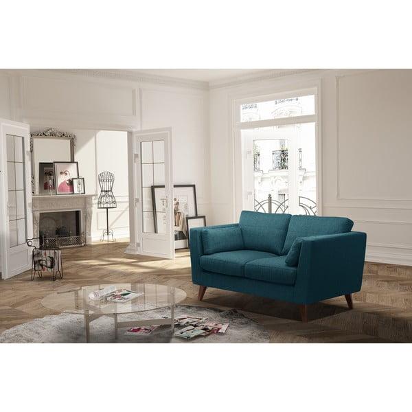 Sofa dwuosobowa Elisa, turkusowa