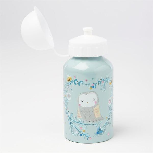 Niebieska butelka na wodę Sass & Belle Woodland