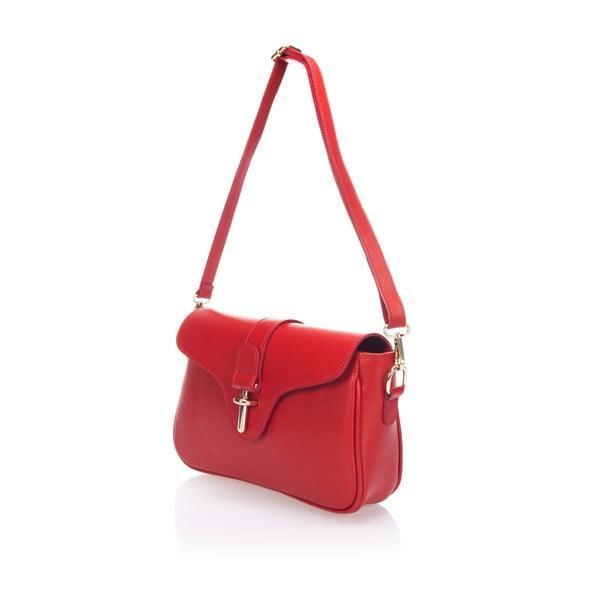 Skórzana torebka Markese 2355 Red