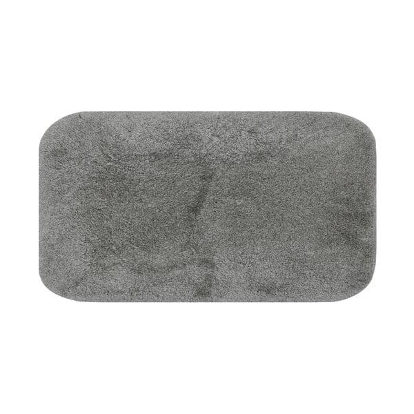 Szary dywanik łazienkowy Confetti Miami, 57x100 cm