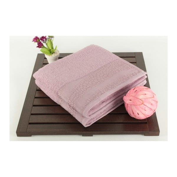 Zestaw 2 ręczników Patricia Balon Purple, 50x90 cm