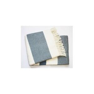 Koc Granite Plaid Night Blue, 140x180 cm