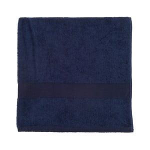 Ciemnoniebieski ręcznik frotte Walra Frottier, 70x140cm