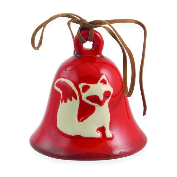 Zestaw 12 dzwoneczków Xmas Fox