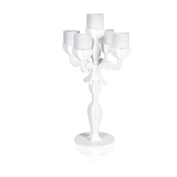 Stojak na świeczki Vittoriale Bianco