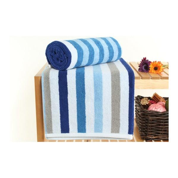 Zestaw 2 ręczników kąpielowych Peggy French Blue, 70x140 cm