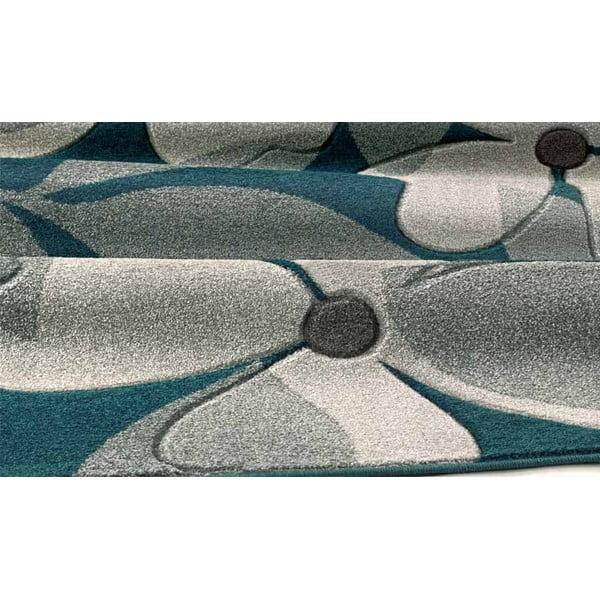 Dywan Intarsio Floral Blue, 160x230 cm