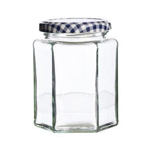 Szklany słoik z zakrętką Kilner Hexagonal, 280ml