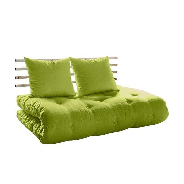 Sofa rozkładana Karup Shin Sano Natur/Pistacio