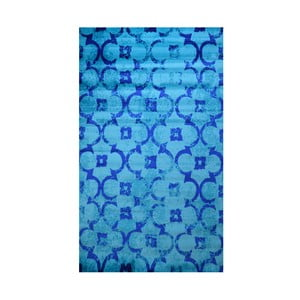 Niebieski dywan Webtappeti Castle, 165x230cm
