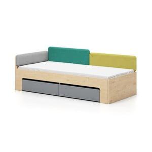 Łóżko jednoosobwe Devoto Moody, 90x200cm