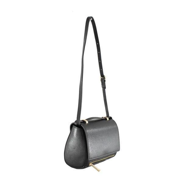 Czarna torebka skórzana Polly