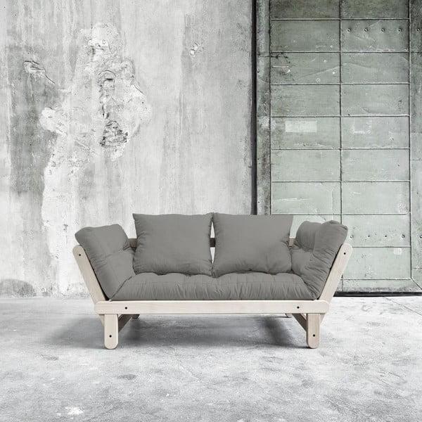 Sofa rozkładana Beat Beech/Granite Grey