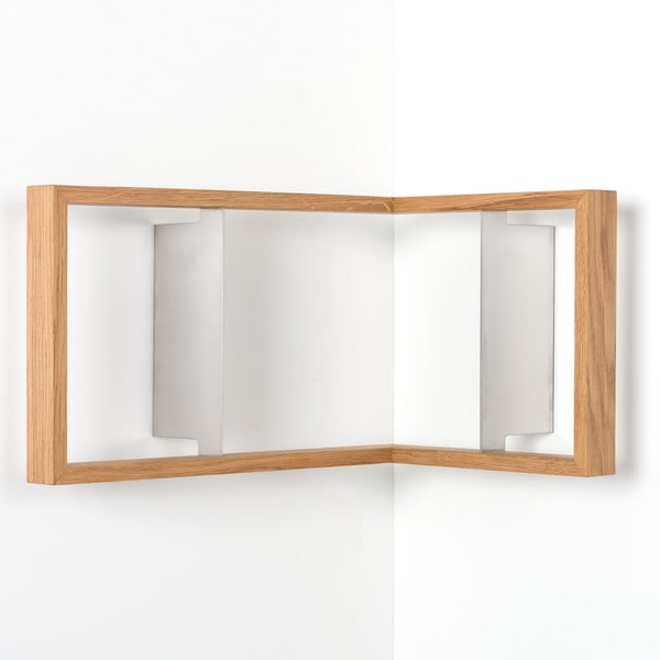 Narożna półka na książki b2, 50x35x35cm