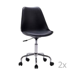 Zestaw 2 krzeseł biurowych House Nordic