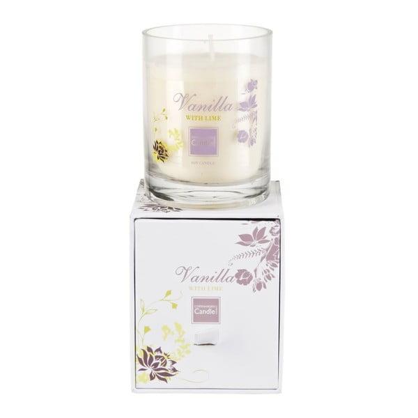 Świeczka zapachowa Vanilla & Lime Small, czas palenia 40 godzin