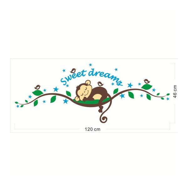 Zestaw naklejek Ambiance Monkeys Sweet Dreams