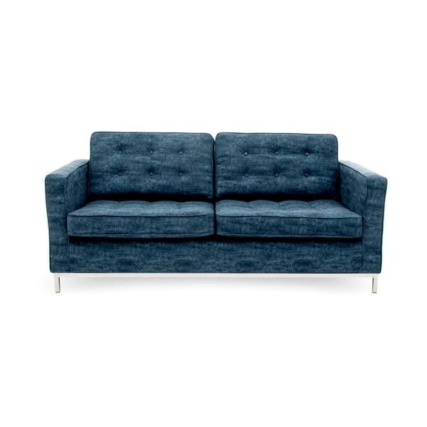 Sofa trzyosobowa, ciemnonbiebieska