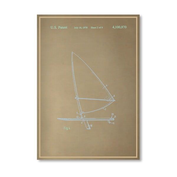 Plakat Wind Surfboard II, 30x42 cm