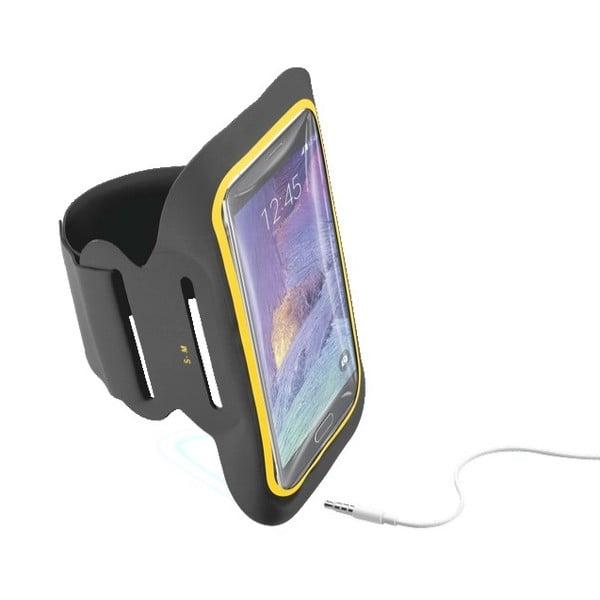 Sportowa opaska na ramię CellularLine XL, czarna