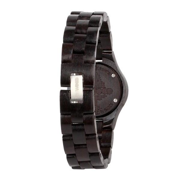 Drewniany zegarek damski Moon Black