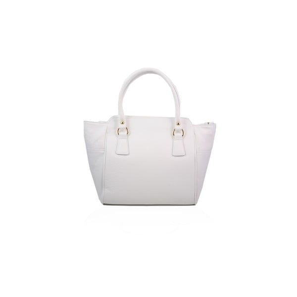 Skórzana torebka Gabriela, white