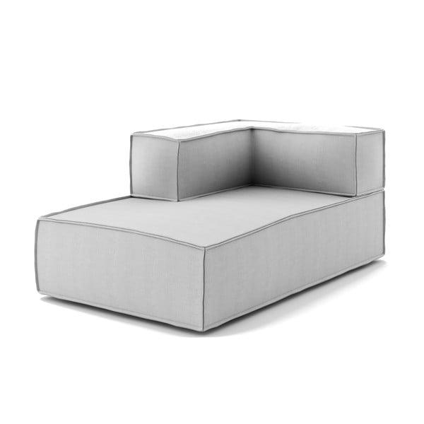 Jasnoszary sofa narożna Absynth Noi