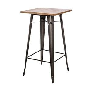 Metalowy stół barowy D2 Paris Ash Wood