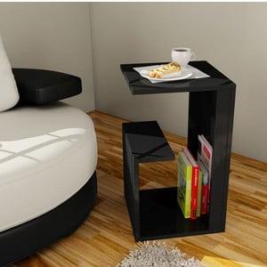 Wielofunkcyjny stolik kawowy Menekse Black