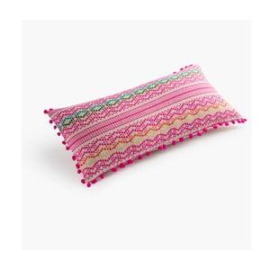 Poszewka na poduszkę Mexicano Rosa, 30x60 cm