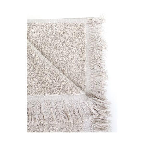 Komplet 2 jasnoszarych ręczników bawełnianych Casa Di Bassi, 50x90 cm