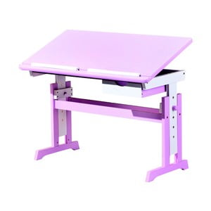 Różowe biurko regulowane 13Casa Paint