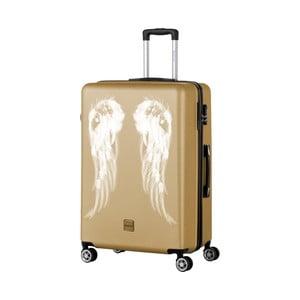 Walizka w złotym kolorze Berenice Wings, 107 l